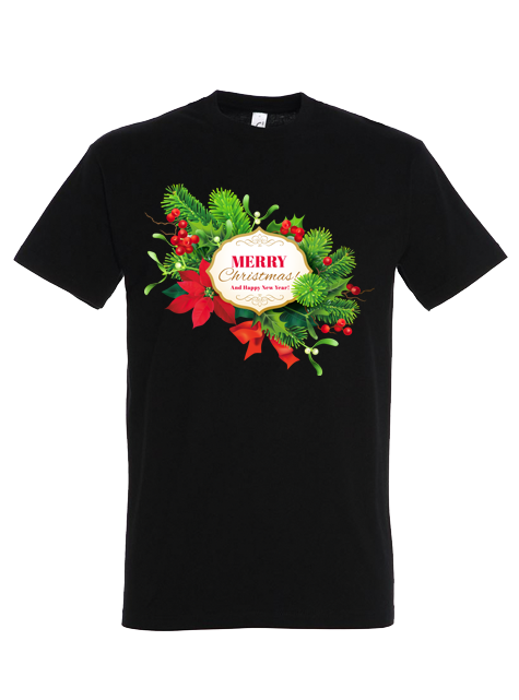 Tricou Christmas + New Year