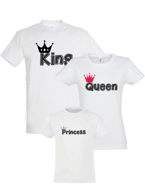Tricouri king+queen family2