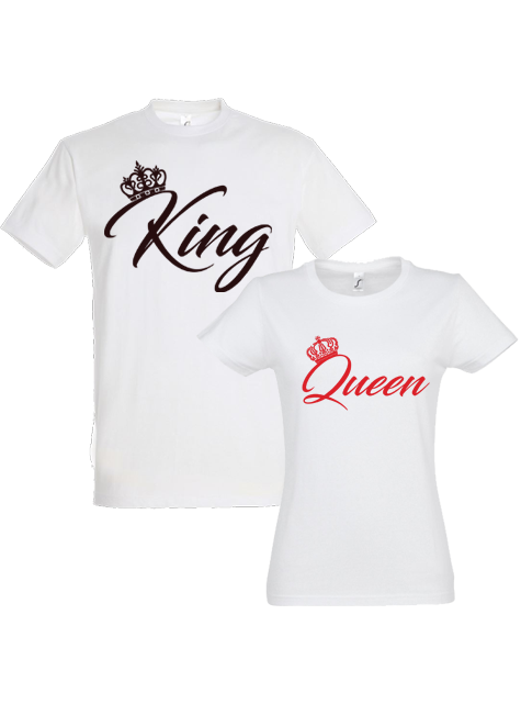 Tricou king-queen