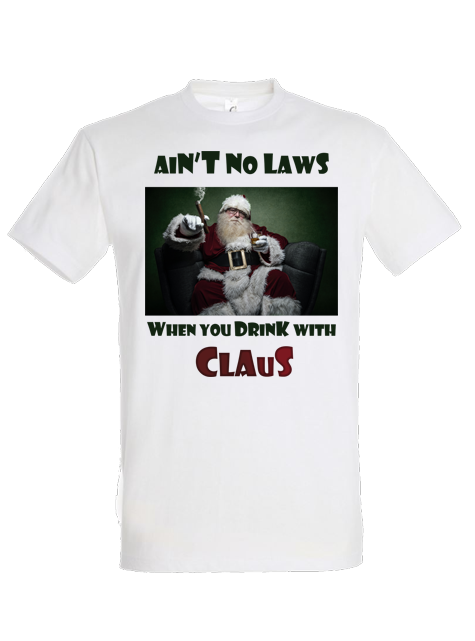 Tricou Drinking with Claus